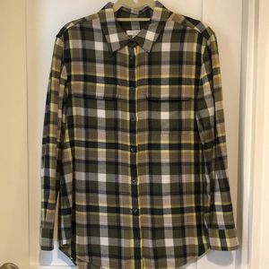 Equipment flannel shirt